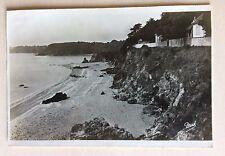 carte postale ancienne 39 plage de la Rougeole et rocher Saint Nazaire (L. I.)