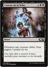 MTG Magic M19 - (x4) Lich's Caress/Caresse de la liche, French/VF