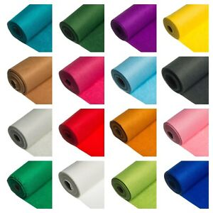 5 Metre Roll! Super Soft Acrylic Craft Felt 48 Colours - UK Made  In 48 Colours!