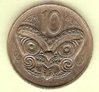 1977 NEW ZEALAND CIRCULATED 10 CENT COIN
