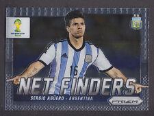 Panini Prizm World Cup 2014 - Net Finders # 3 Sergio Aguero - Argentina
