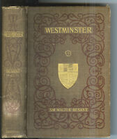 Westminster by Sir Walter Besant 1895 1st Edition Nice Rare Antique Book! $