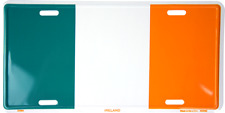 "Irish Ireland 6""x12"" Aluminum License Plate Tag made in usa"