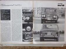 *ARTICOLO LANCIA FLAVIA 1.8 INIEZIONE -- 1969