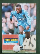 PETER NDLOVU  COVENTRY  PLAYER-1 PAGE PICTURE - CLIPPING/CUTTING