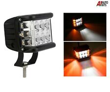 12v - 24v Cube Strobe Flashing Flash 12 Led Work Light Triple Side Shooter Lamp