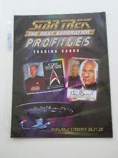 Star Trek Sell Sheet- TNG Profiles