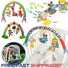 2021 Baby Travel Play Arch Stroller Crib Pram Activity Bar Rattle Squeak Toys UK