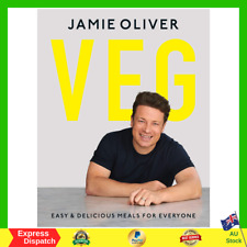Jamie Oliver Veg Easy And Delicious Meals for Everyone Hardcover Book NEW