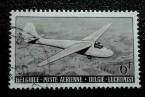 Belgium :1951 Airmail - Airplanes  6 Fr. Rare & Collectible Stamp.