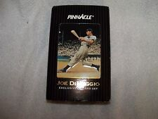 1993 Joe DiMaggio 30 Card Set in Tin Box with Authenticator Lens by Pinnacle