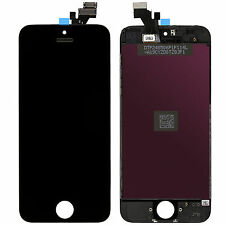 TOUCH SCREEN + LCD DISPLAY RETINA + FRAME PER APPLE IPHONE 5 NERO VETRO SCHERMO