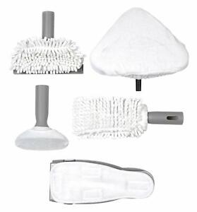 Beldray 6 Piece Replacement Microfibre Pad Set For 10 in 1 Steam Cleaner New