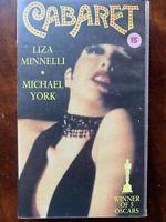 Cabaret VHS 1972 Liza Minnelli Musical Klassisch