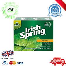 Irish Spring Deodorant Soap Bar (Original)  3 X PACK