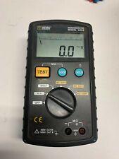 Aemc Instruments Model 1026 Handheld Digital Analog Megohmmeter