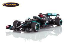 Mercedes AMG F1 Sieger GP England 2020 Weltmeister Lewis Hamilton, Spark 1:43