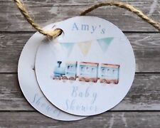 x10 Baby Shower Personalised Gift Tags | Baby Boy | Party Supplies | Gifts