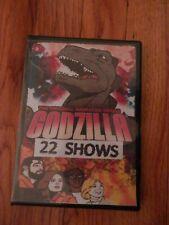 Classic Godzilla Cartoon Dvd 22 Episodes