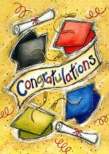 """Congratulations"" 12.5"" x 18"" Graduation Garden Flag by Toland"