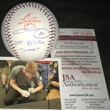 Chris Sale Boston Red Sox Signed 2017 All Star Baseball 2nd ASG START JSA WIT
