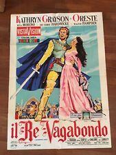 manifesto,2F,R,Il re vagabondo,The Vagabond King,M.CURTIZ,Moreno,Grayson Oreste