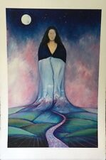 """Limited Edition """"Goddess of Two Worlds"""" by National Artist Teri Rizzutti 1997"""
