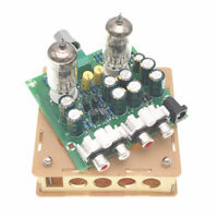 Bausatz mit Ventil Vorverstärker X10-D AC 12V 2.0 / Stereo Case 6J1 Fidelity
