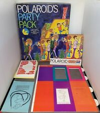 VINTAGE 1969 POLAROID'S PARTY PACK COMPLETE