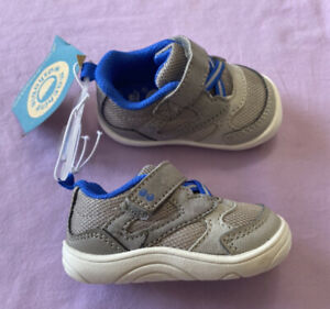 Surprize by Stride Rite Baby Boys' Chase Sneakers Gray Size 3
