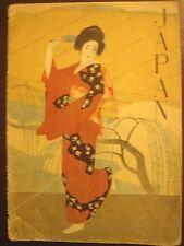 1930s Japanese Railways brochure; Japan occupation of Korea, Taiwan, Manchuria