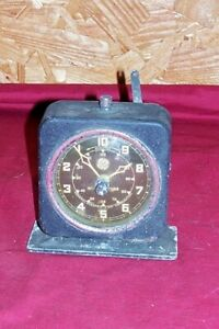 Old General Electric Interval Timer Clock Darkroom Film Lab GE Steampunk Parts