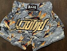 Raja Boxing Muay Thai Shorts Mma Boxing New in Package Large*On Sale*