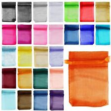 Organza Jewelry Packing Pouch  Favor Gift Bags For Wedding 7X9CM,10X12CM