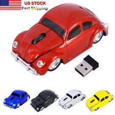 HOT 2.4GHZ Car Shape Wireless Mouse USB optical LED mice for PC Laptop MAC Gift