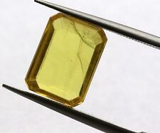 2.57 Ct Natural Yellow Sapphire Loose VS Eye Clean Thailand Gem Excellent Luster