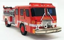 Corgi 1/50 Scale Model Fire Engine 54701 - E-One Side Mount Pumper - Boston
