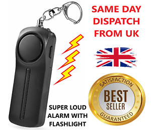 Police Approved Personal Panic Rape Alarm Attack Safety Women Children UK STOCK