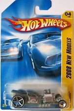 Hot Wheels Ratbomb Hot Rod Silver Diecast Car, New for 2008, New on Card