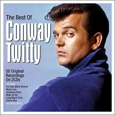 Conway Twitty BEST OF 50 Original Recordings ESSENTIAL COLLECTION New 2 CD