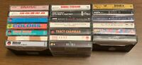 Lot Of 20 Cassette Tapes - 70s, 80s, 90s - tested - VG Sinatra, Prince, Leppard