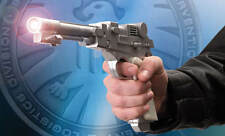 NICK FURY ELECTRONIC NEEDLE GUN TOY METAL PROP REPLICA MARVEL COMICS COLLECTIBLE
