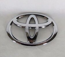 TOYOTA TRUNK EMBLEM 11-17 COROLLA/15-17 CAMRY BACK OEM CHROME T BADGE sign logo