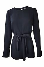 *ELIZABETH & JAMES* LUCILLE CREPE PLAYSUIT (UK 4)
