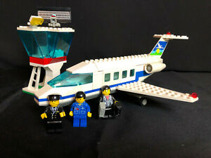 Lego 1775 Town Airport Promotional set Airport   City Flugzeug complete