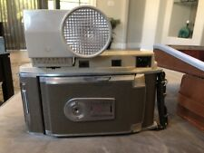 VINTAGE POLAROID 850 ELECTRIC EYE LAND CAMERA WITH LEATHER CASE