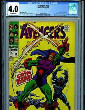 Avengers #52 CGC 4.0 Marvel Comics 1968  1st Grim Reaper Amricons K48