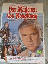 N1 Original Filmplakat DAS MÄDCHEN VON HONGKONG Joachim Fuchsberger Kinoplakat
