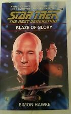 Star Trek The Next Generation #34 Blaze of Glory Simon Hawke