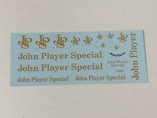 1/18 Decal sheet for Lotus F1 Formula 1 John Player Special cars
